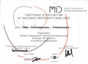 certyfikat ptto wrocław